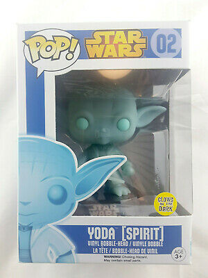 AU57.90 • Buy Star Wars Yoda Spirit #02 GITD (2016) Funko Pop! Figure/toy/gift/collection