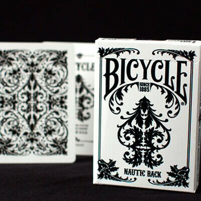 £3.45 • Buy Bicycle Nautic Playing Cards White U.S.P.C.C  - Collectible New Sealed Deck