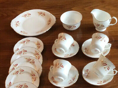 Vintage Royal Osborne  China Tea Set. Please Read Description • 6.99£