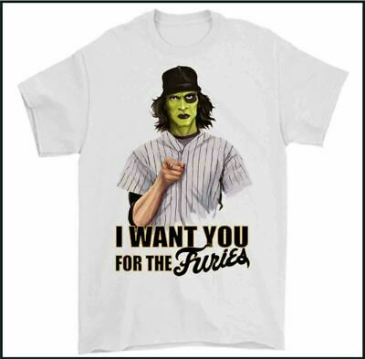 THE WARRIORS T-SHIRT, I Want You For The Furies Mens Retro 70s 80s Movie TEE TOP • 7.99£