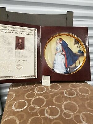 $ CDN50.86 • Buy Norman Rockwell  The Unexpected Proposal  Plate 1986 - Edwin Knowles Collection
