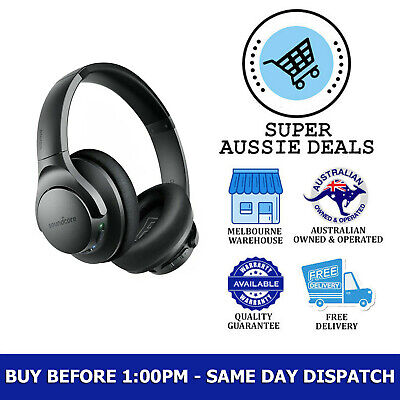 AU135 • Buy Anker Soundcore Life Q20 Hybrid Wireless O/Ear Bluetooth Headphone FAST DISPATCH