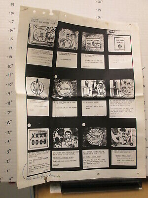 $172.99 • Buy OVALTINE 1955 Capt Captain Midnight TV Commercial Storyboard Premium DECODER