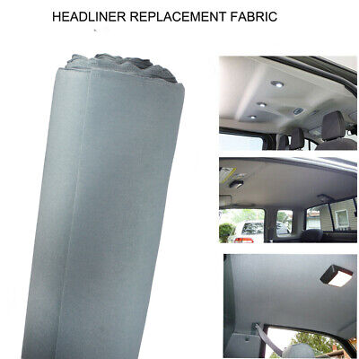 $31.01 • Buy Replace Headliner Fabric Foam Back,Make Smell&Tear&Fading Disappear Gray 64 X60