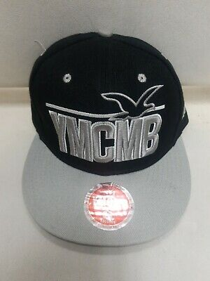 YMCMB Hat / Cap Snapback In Black & Grey/fast Post • 9.95£