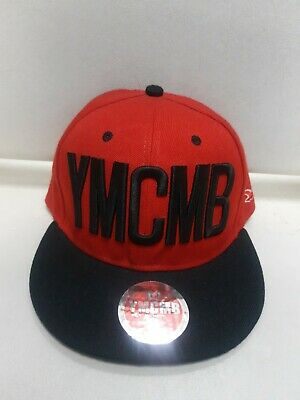 YMCMB Hat / Cap Snapback In Black & Red/fast Post • 9.95£