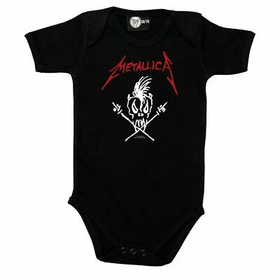 £19.95 • Buy Metallica Scary Guy Official Baby Grow Romper (Ages 0-18 Months)