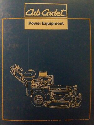 AU56.94 • Buy Cub Cadet Pro Performer Implements Attachments Walk-Behind Mower Parts Manual