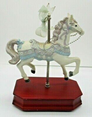 $11.69 • Buy Carlton Cards Musical Carousel Horse  Music Of The Night