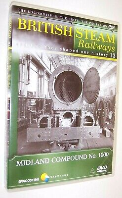 British Steam Railways DVD (No.13) The Midland / LMS Compound 4-4-0 Locomotives • 1.99£