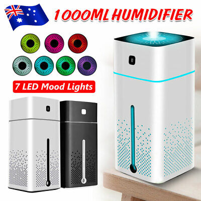 AU23.95 • Buy 1L Ultrasonic Aromatherapy Diffuser Oil Air Humidifier Essential Purifier USB OZ
