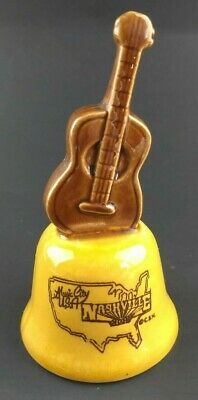 $9.99 • Buy Vintage Opryland USA Nashville Tennessee Souvenir Bell With Guitar Top