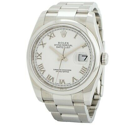 $ CDN7375.76 • Buy Rolex Datejust 36 Stainless Steel Automatic Watch 116200