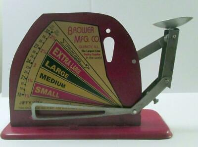 $30 • Buy A Very Nice Jiffy Way Manufacturing Co. Egg Scale