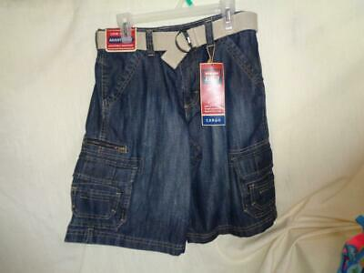 $12.99 • Buy Wrangler Belted Cargo Shorts Boys Size 10 Husky New With Tags