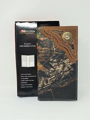 $38.95 • Buy Nocona Mossy Oak 12 Guage Rodeo Wallet/checkbook Cover