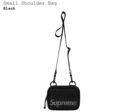 $ CDN69.46 • Buy Supreme Small Shoulder Bag SS20 Black
