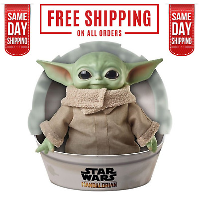 $49.95 • Buy Baby Yoda The Child Plush Mandalorian Star Wars 11 Inch Official | In Stock Now