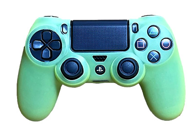 AU8.90 • Buy Silicone Cover For PS4 Controller Case Skin - Yellow