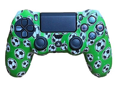 AU8.90 • Buy Silicone Cover For PS4 Controller Case Skin - Green Soccer Balls Football