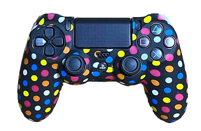 AU8.90 • Buy Silicone Cover For PS4 Controller Case Skin - Polka Dots