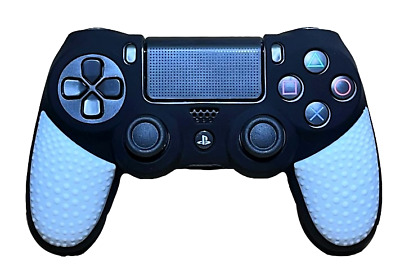 AU9.90 • Buy Silicone Cover For PS4 Controller Case Skin - Black/White