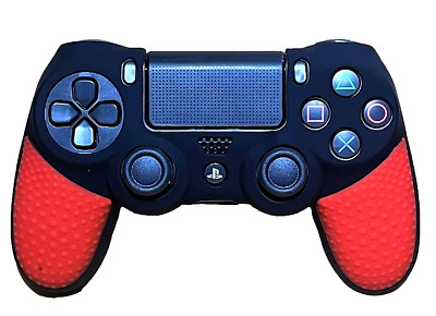 AU9.90 • Buy Silicone Cover For PS4 Controller Case Skin - Black/Red