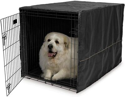 $27.32 • Buy 48  Extra Large Giant Breed Dog Crate Kennel XL Pet Wire Cage Huge Folding Cover