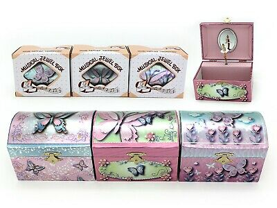 AU29.99 • Buy Dome Butterfly Musical Jewellery Box