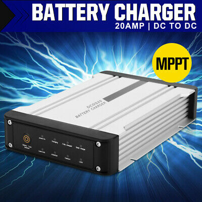 AU169.99 • Buy 20A DC To DC Battery Charger MPPT Dual Battery System Kit Isolator Solar 12V