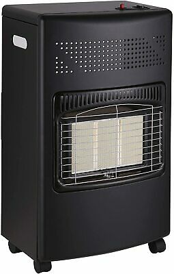 4.2Kw Portable Home Heater Butane Fire Calor Gas Cabinet With Regulator Hose • 73.99£