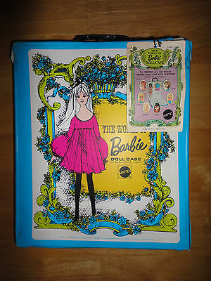 $ CDN88.18 • Buy Vintage 1968 BARBIE DOLL CASE From MATTEL #1002 *NEW WITH TAG*