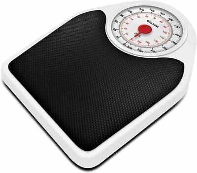 Salter Doctor Style Mechanical Bathroom Scales Accurate Weighing Retro White  • 36.99£