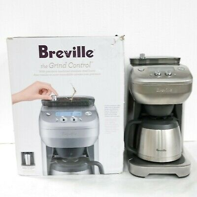 $220 • Buy Breville The Grind Control Coffee Maker BDC650BSS (No Carafe No Filter)