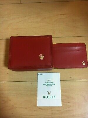 $ CDN107.26 • Buy GENUINE ROLEX  Ladies  Watch Box Case 14.00.71 Guarantee 691714 Card Case