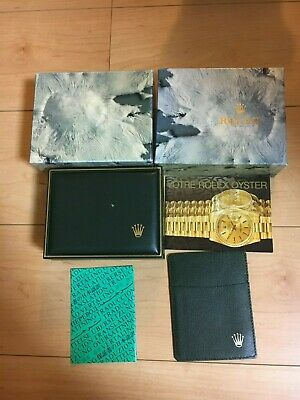 $ CDN134.41 • Buy GENUINE ROLEX OYSTER Watch Box Case 11.00.71 Booklet  Cardcase 69240