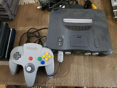 AU100 • Buy Nintendo 64 System Black Console In Working Order