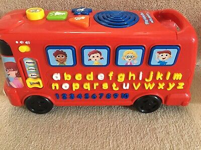 Vtech Playtime Bus With Phonics • 10£
