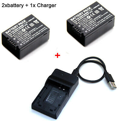 AU17.88 • Buy Battery Charger For Panasonic Lumix DMC-FZ60 FZ62 FZ70 FZ80 FZ100 FZ150 DMW-BMB9