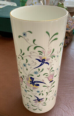 $23.39 • Buy COALPORT China Pageant Pattern Cylinder Vase - 11 Inches Tall