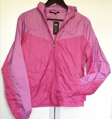 Pink & Lilac Shell-suit Lightweight Anorak With Hood, By FILA, Size 14, BNWT  • 2.99£