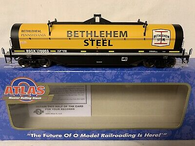 $ CDN131.81 • Buy ✅atlas O 2-rail Bethlehem Steel 42' Coil Car 3002716-3! New O Scale Mill