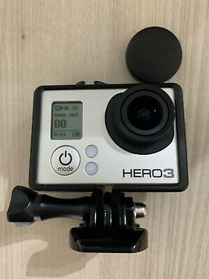 AU120 • Buy GoPro Hero 3 Silver As New With Accessories And Free Post