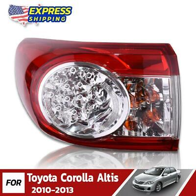 $92.94 • Buy LH Outer Tail Lights Lamp Assembly Fit For Toyota Corolla Altis Sedan 2010-2013