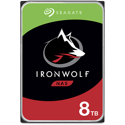 AU364 • Buy NEW Seagate IronWolf ST8000VN004 3.5  8TB 256MB 7200RPM NAS HDD ST8000VN004