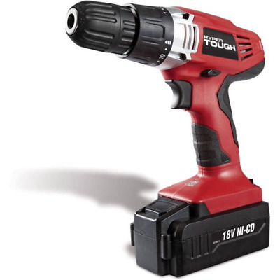View Details Cordless Electric Drill Driver Power Tool 18V Ni-Cad Battery Charger Included • 32.99$