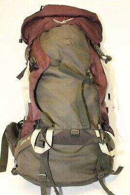 $15.50 • Buy Osprey Luna 60 Womens Canvas Hiking Camping Trail Backpack
