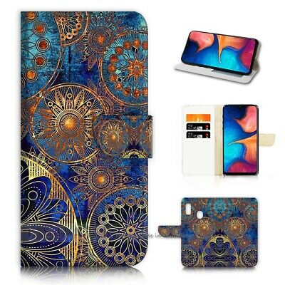 AU12.99 • Buy ( For Huawei Y9 Prime [2019])  Flip Case Cover AJ40419 Abstract Design