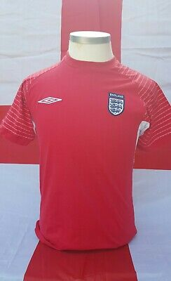 England Football Umbro Red Training Top Small  • 12£