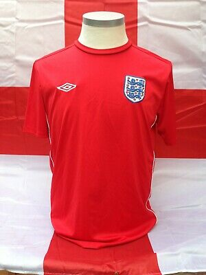 England Football Umbro Red Training Top Large • 12£